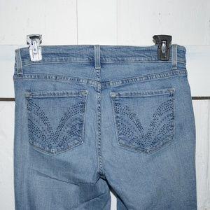 NYDJ Jeans - NJDJ womens capris size 8 -340-